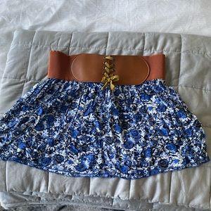 Dresses & Skirts - Belted mini skirt
